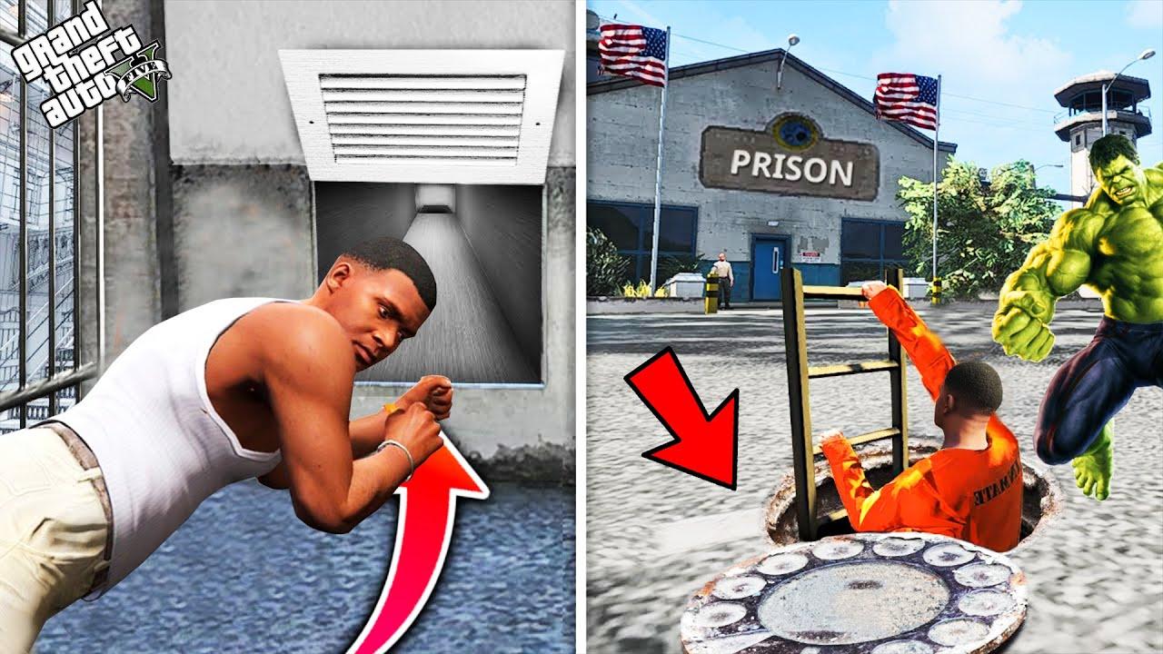 Download GTA 5 : Shinchan , Pinchan And Franklin Planning To Escape Prison in GTA 5 ! (GTA 5 mods)