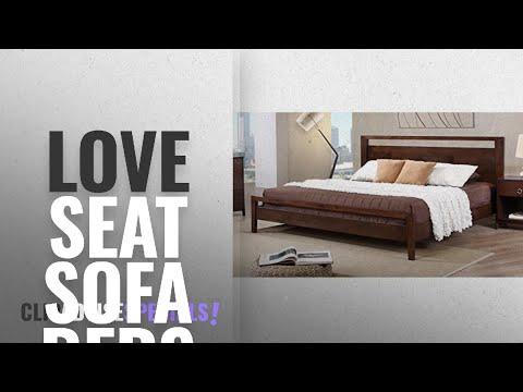 Top 10 Love Seat Sofa Beds [2018]: Metro Shop Kota King-size Platform Bed