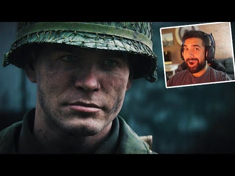 Official Call of Duty®: WWII - Story Trailer *REACTION*