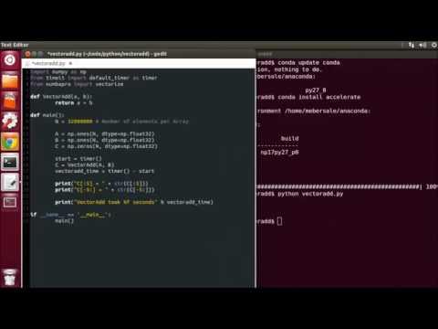 CUDACast #10a - Your First CUDA Python Program
