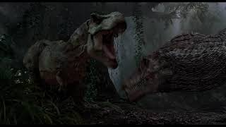 Тираннозавр VS Спинозавр \ Парк Юрского периода 3 ( Jurassic Park III )