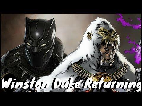Marvel's Black Panther  Winston Duke Returning for Avengers Infinity War