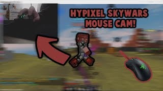 HOW I PVP (MouseCam) Hypixel Skywars!