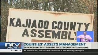 ICPAK proposes asset disposal policy to guide counties