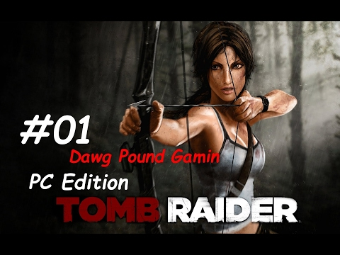 Tomb Raider 2013 Part 1 Commentary Walkthrough  Nonlinear Gameplay HD