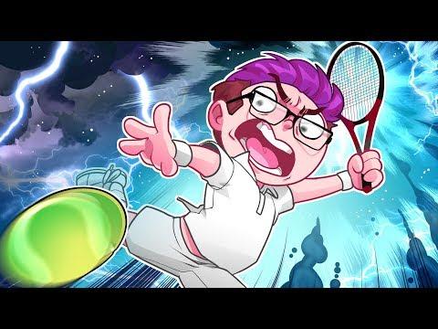 Touching his (Tennis) BALLS!