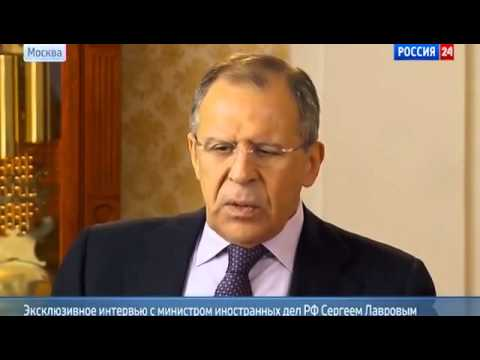 Exclusive Interview with Russian Foreign Affairs Minister Sergey Lavrov regarding events in Ukraine