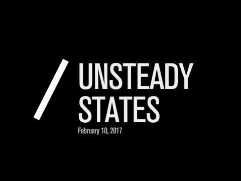 Urban Works Agency Lecture: Unsteady States