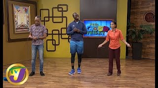 TVJ Smile Jamaica: Neville & Simone Skipping Something to Smile About - September 6 2019