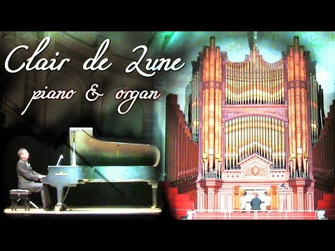 CLAIR DE LUNE - DEBUSSY - PIANO & ORGAN - VICTORIA HALL ORGAN PROM - SCOTT BROTHERS DUO