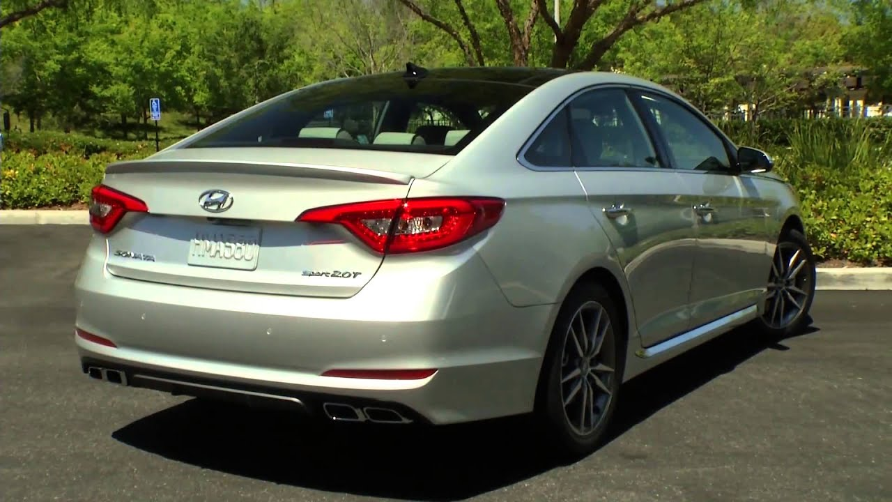 2015 hyundai sonata 2 0t preview automototv youtube. Black Bedroom Furniture Sets. Home Design Ideas