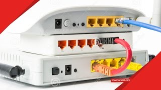 شرح طريقة تحويل روتر الي اكسس بوينت access point