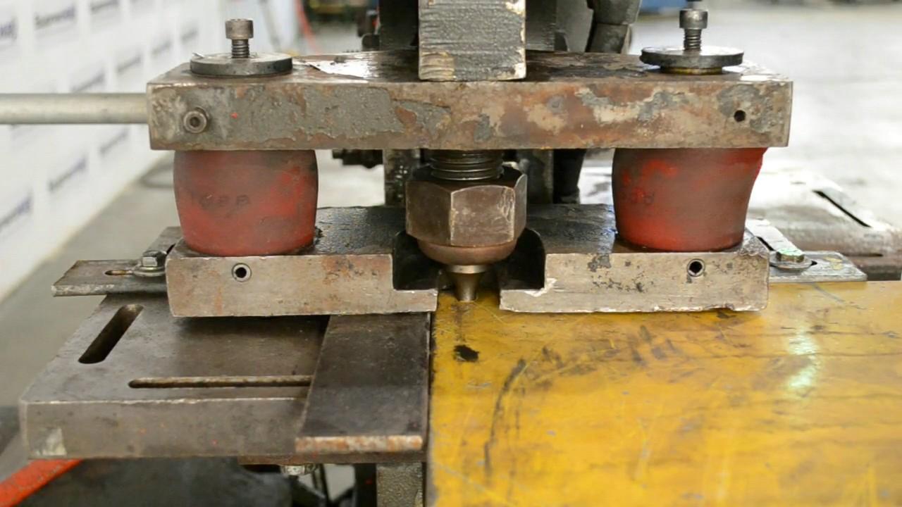 Edwards 55 Ton Hydraulic Ironworker  Single Phase