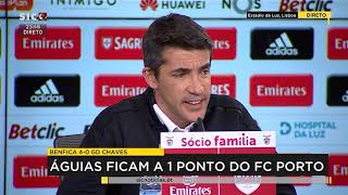 B. Lage Benfica-Chaves Pós Match