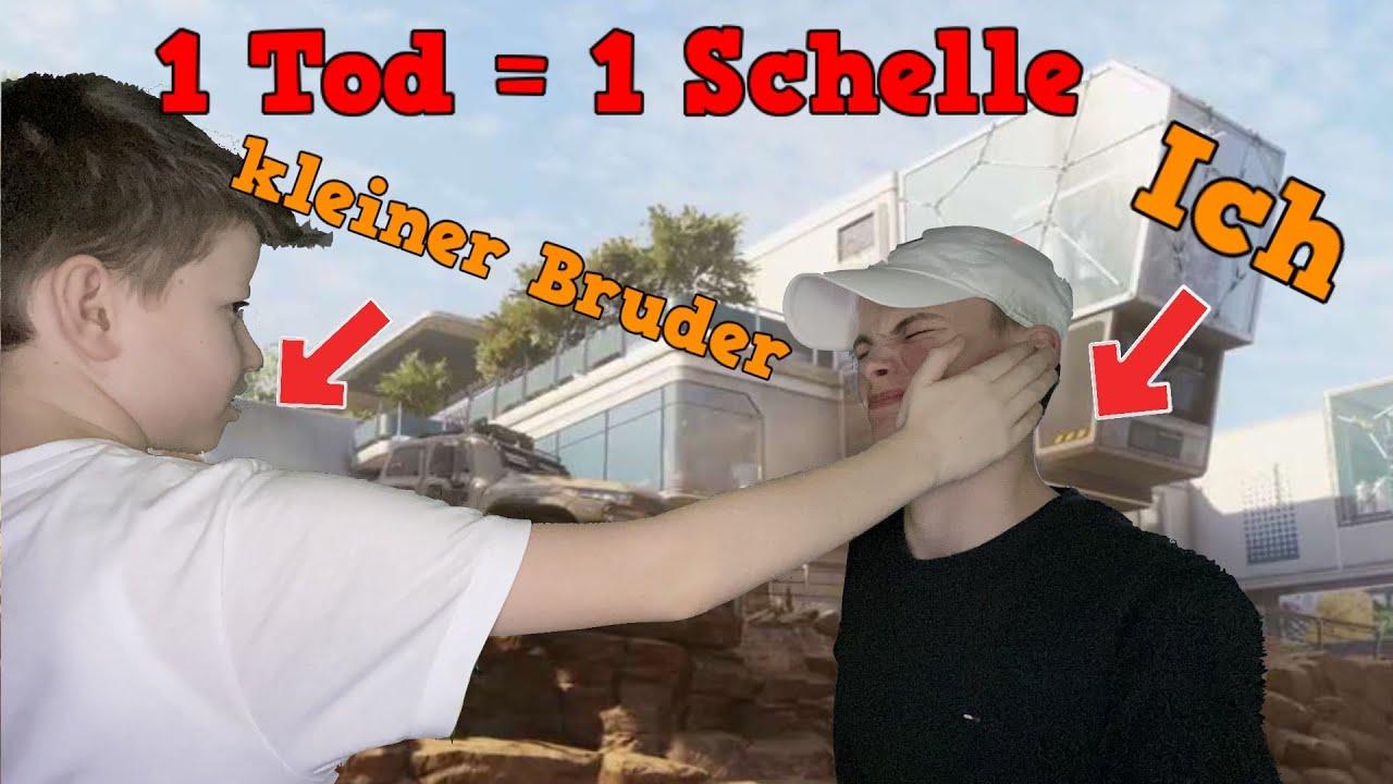 1 Tod = 1 Schelle von meinem kleinen Bruder Challenge