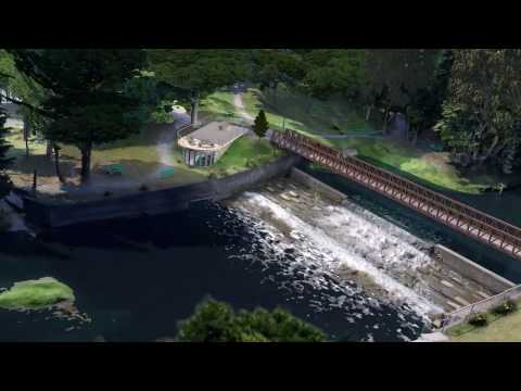 Fly Through Video of Delhi Quance Dam - Greenbug Energy
