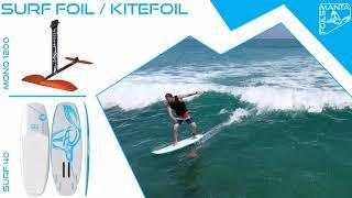 Mantafoils - Mono 1200 - surf 40