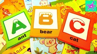 Learn ABC With Wild Animals | ABC Song for Kids | ABC Wild Animals Names