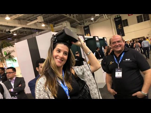 Estação de Realidade Virtual - Golf @ Expert 2018