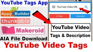 Download Video/Audio Search for makeroid aia file , convert makeroid