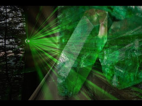Emerald Green Ray Alchemy Peace Love Harmony Prosperity Abundance