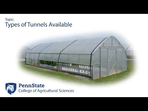 Types of High Tunnels