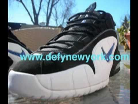 newest collection 94ec0 0d73d NIKE AIR MAX PENNY 1 RETRO 2005 ORLANDO BLACK VARSITY ROYAL WHITE