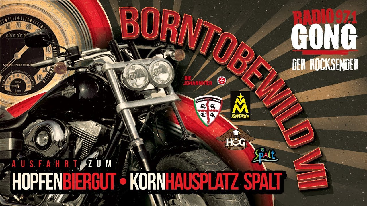 Born To Be Wild Vii Die Radio Gong Bikerausfahrt Youtube