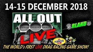 All Out Live - Saturday Competition, Orlando Speed World Dragway