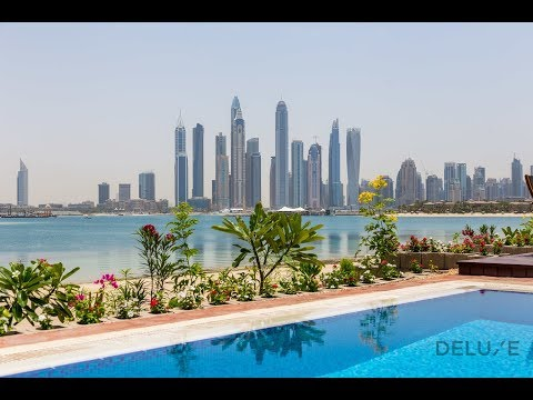 Furnished Villa for Short-Term Rent in Palm Jumeirah, Dubai