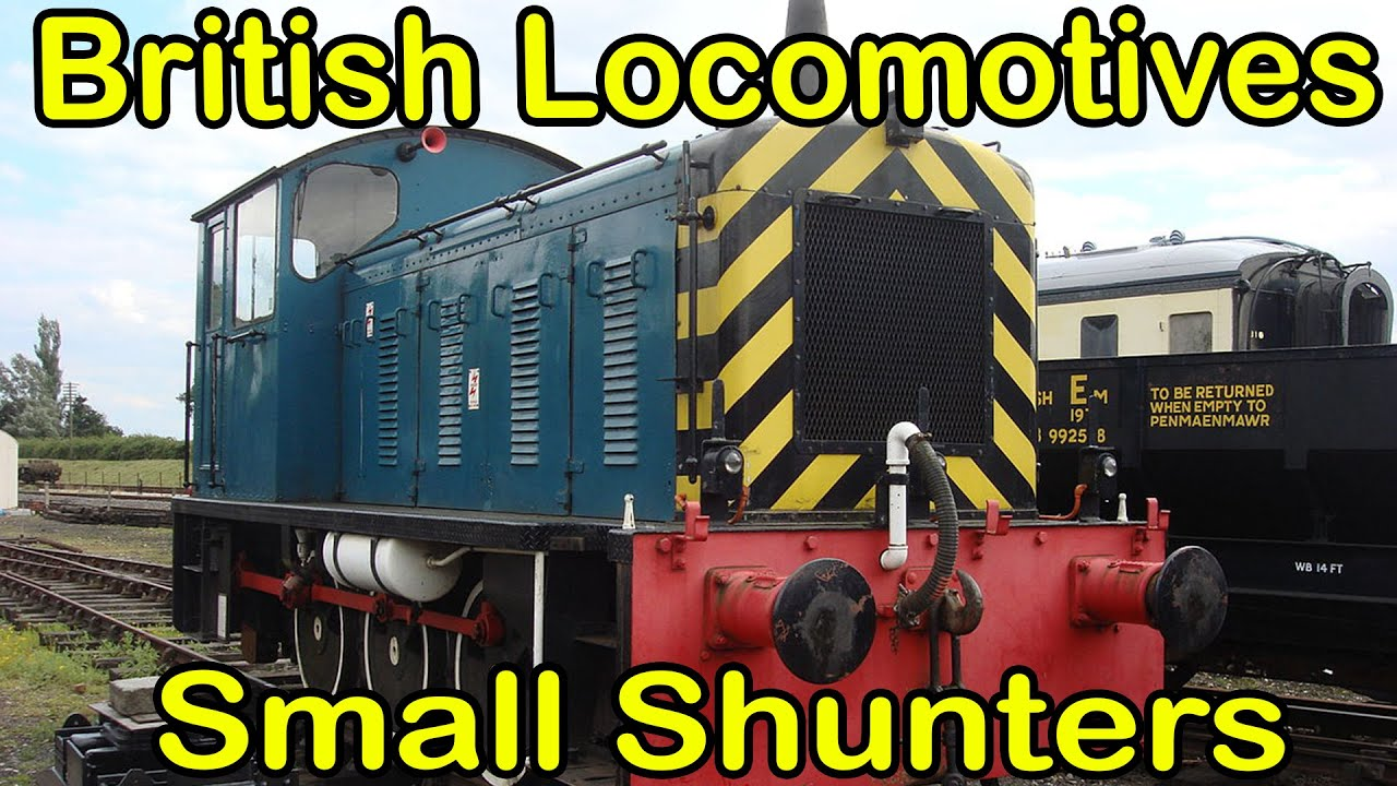 Small Shunters: under 300hp