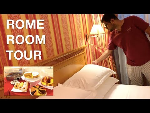 Rome Hotel Room Tour - Where To Stay In Rome, Italy | Travel & Lifestyle