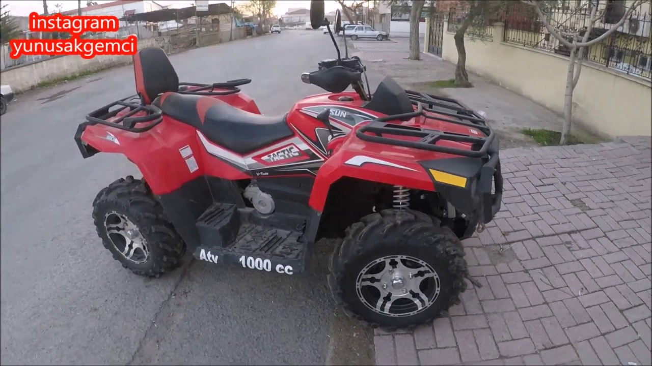 Kral Torro 1000 Cc 4x4 Ve 4x2 Atv Motor Tactic 1000 Atv Youtube