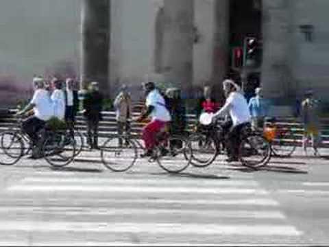 Bicycle Demonstration in Copenhagen