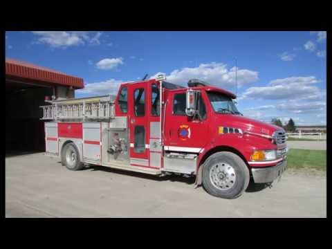 BLOOD TRIBE FIRE DEPARTMENT HOUSE FIRE STANDOFF AB. FEB.2.2016