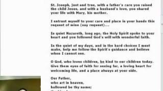 Novena to St. Joseph - Day 5 of 9.mp4