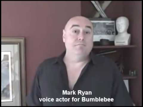 Mark Ryan, voice actor for Bumblebee sends message for Toy Con 2009