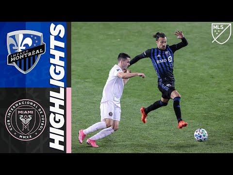 Montreal Impact vs. Inter Miami CF   October 17, 2020   MLS Highlights