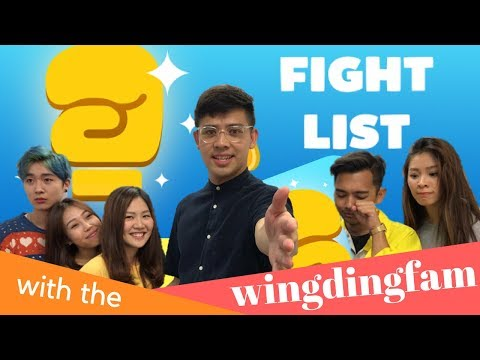 The Fight List Game Showdown By WingDing Fam | TSL Talent Search 2017 Contestants