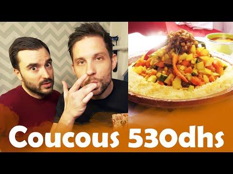 Couscous 2 € Vs Couscous a 530 dhs avec Benjamin Verrecchia