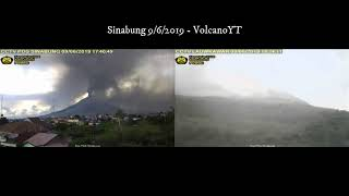 9/6/2019 - Mt Sinabung TimeLapse