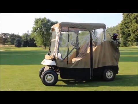 EZ Mag Golf Cart Covers - US Patented Magnetic Door Feature