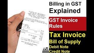 GST Invoice Rules and Format   GST Tax Invoice   GST में Invoice के बारे में जाने जरुरी बाते  