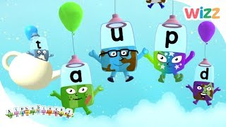 Phonics - Learn to Read | Sing With The Alphablocks | Alphablocks | Wizz | Cartoons for Kids