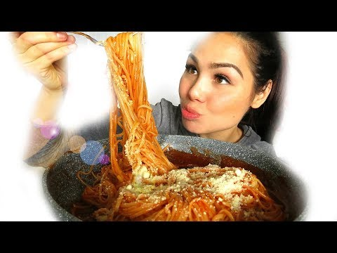 Sweet Filipino Spaghetti 먹방 Mukbang | Eating Show | Story Time 18+