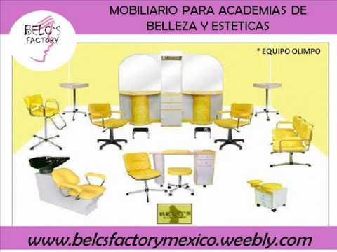 Belcs factory mexico muebles para salones de belleza y for Precios de salones completos