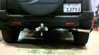 FJ Cruiser Corsa dB cat-back exhaust by TRUX
