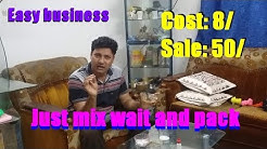 Business to start from home. Low invest and high profitable business idea.