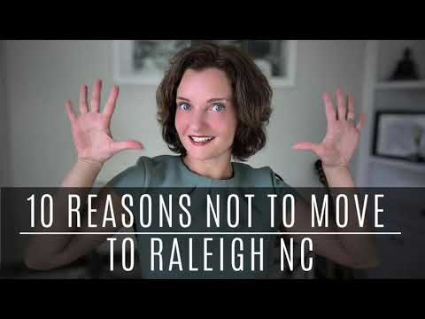 10 Reasons NOT To Move To Raleigh North Carolina