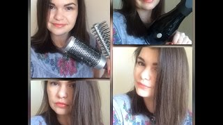 Как сделать укладку волос феном? Легко)